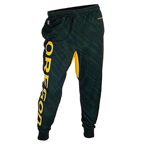 Oregon Ducks NCAA Team Mens Cuffed Jogger Pants, Green (X-Large)