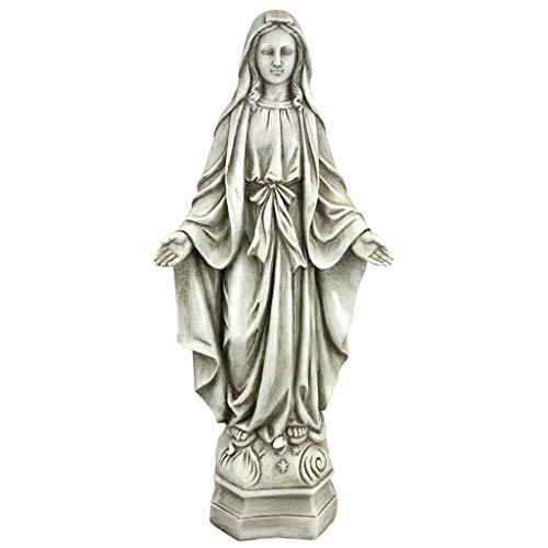 Design Toscano Madonna of Notre Dame Garden Statue, Large