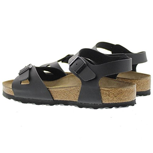 e40417aad0d6 BIRKENSTOCK Rio Womens black Birko-Flor Sandals 39 EU (8-8.5 N US Women) -  Buy Online in Oman. | Shoes Products in Oman - See Prices, Reviews and Free  ...