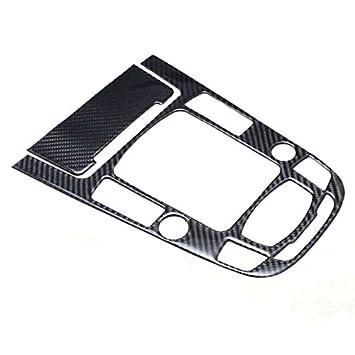 ABS Carbon Fiber Mittelkonsole Schaltknauf Blende Abdeckung