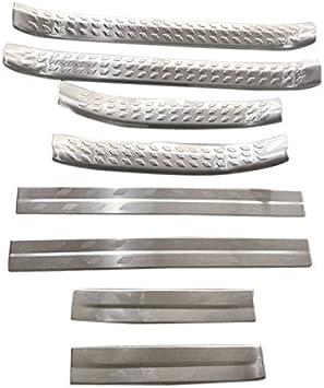 Stainless steel For Toyota C-HR CHR 2017-2018 Inner Door Sill Plate Cover Trim