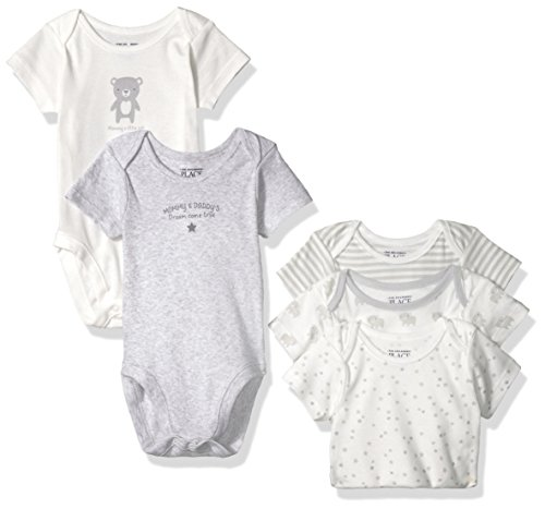 Childrens Place Unisex Printed Bodysuits