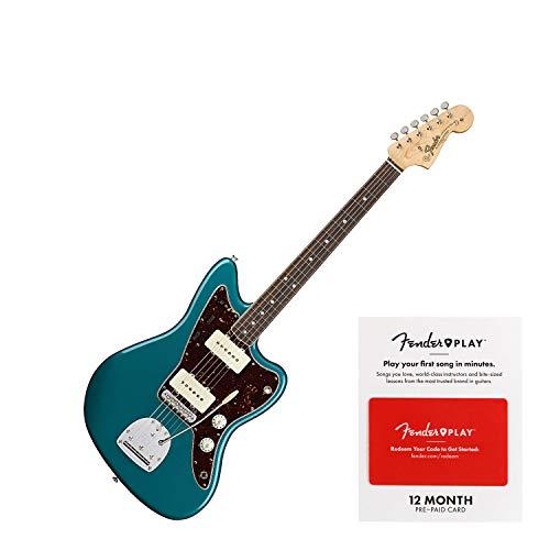 Fender American Original '60s Jazzmaster (Ocean Turquoise Bundle) - Fender Ocean Guitar