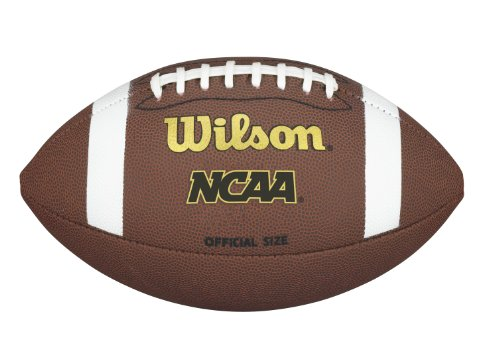 - Wilson NCAA Composite Football - Official