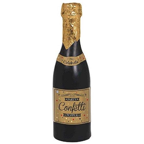 Champagne Bottle Party Popper | Party Decor | 6 Ct. -