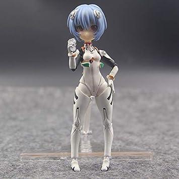 "Bandai Neon Genesis Evangelion Miniature 3.5/"" Figure Rei Ayanami"