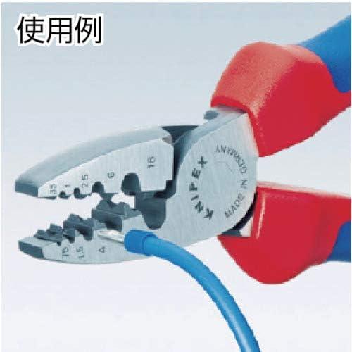 Pinces Outils Pince /à Sertir Pince /à sertir /à la main Ferr Embouts Bootlace Outil de sertissage pour embouts /à sertir 10-35mm/²,Presse Pinces Outils