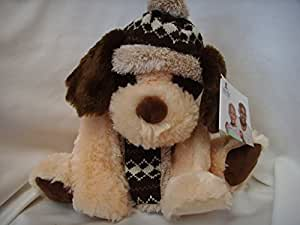 "Hugfun International Puppy Dog Christmas Plush 15"" Collectible ; ""Aiden"""