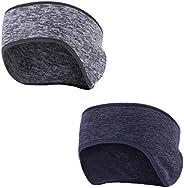 Tagvo Winter Headband Ear Warmer, Warm Fleece Material Fit for Adults Men Women