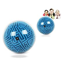 OFKPO 3D Maze Ball, Three-dimensional Magic Labyrinth Cube,Intelligence Toy Gift for Kids Adult
