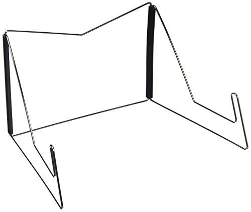 OliaDesign fold-n-stow libro soporte, color negro