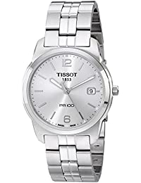 Men's T049.410.11.037.01 Silver Dial Watch
