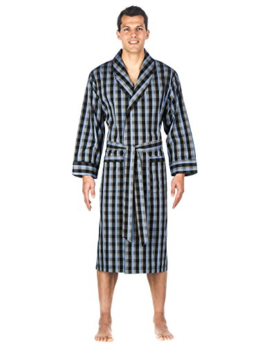 Noble Mount Mens Premium 100% Cotton Robe