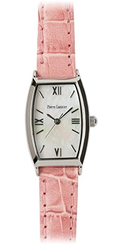 PIERRE LANNIER press watch Tonneau Watch Silver / Croco Usupinku P131D690 C51 Ladies