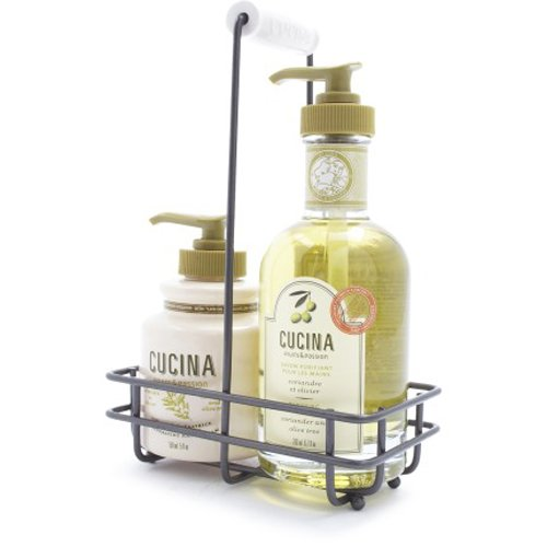 Cucina Coriander and Olive Tree Caddy Set