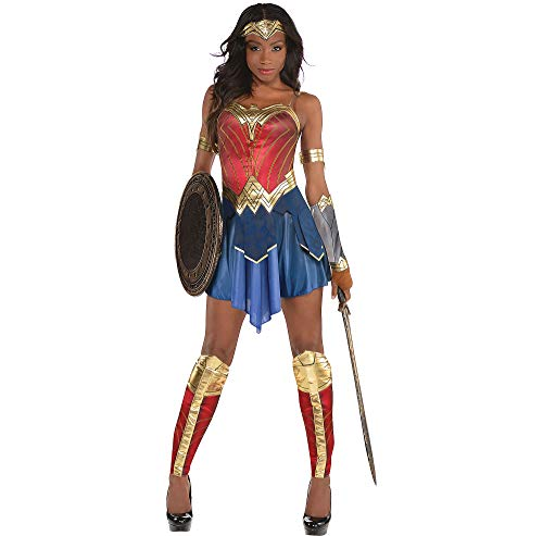 SUIT YOURSELF Wonder Woman Movie Halloween Costume, Extra Large, Includes Accessories ()