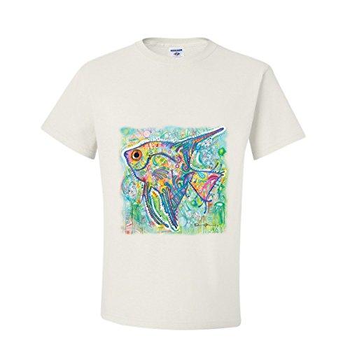 DCDS colorful Angel Fish Marine T-Shirt (Marine Angel Fish)
