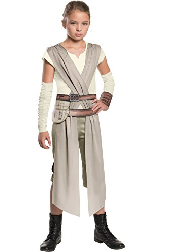 Child Classic Star Wars The Force Awakens Rey Costume - S