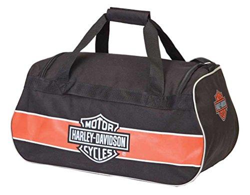 Harley Davidson Logo Sport Duffel/Rust/Black Bag, One Size from Harley-Davidson