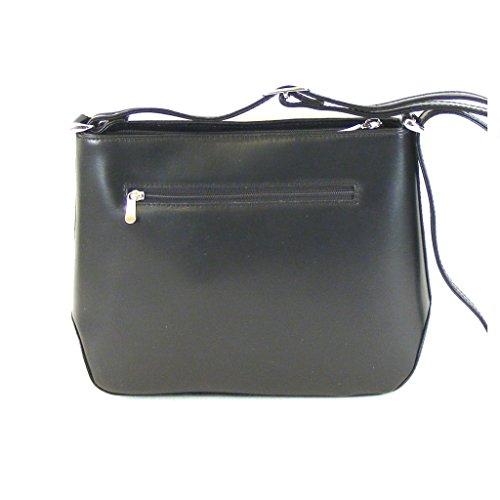 Cm Bxhxt Cross Bag Smooth 20 X Black X Pavini 7 25 Black Skin Women qOwAZZg