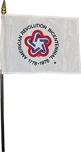 American Revolution Bicentennial Desk Flag 4