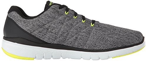 de Black Flex Skechers Advantage Homme 0 Gybk Chaussures Fitness Gris Grey Stally 3 1qaYwBq