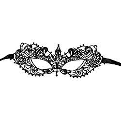 Luxury Mask Women's Lace Eye Mask For Masquerade Party Prom Ball Halloween