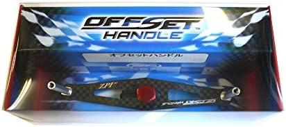 オフィスZPI アブ用オフセットハンドル OS86R-R レッド