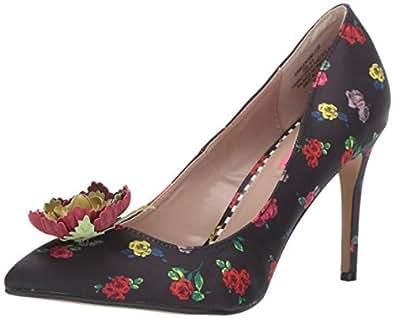 Betsey Johnson Womens KAMI01S5 Kamile Black Size: 6 US / 6 AU
