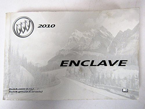 2010 Buick Enclave Owners Manual Guide Book