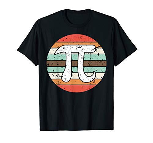 Retro Vintage Pi Day Greek Symbol Math Teacher Tutor T shirt