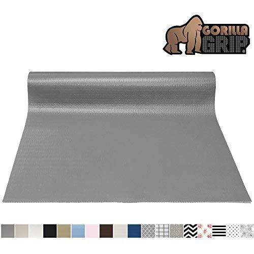 Gorilla Grip Original Smooth Top Slip-Resistant Drawer and Shelf Liner