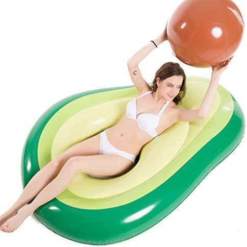 Jasonwell Inflatable Avocado Floatie Swimming product image