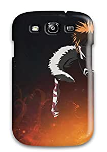 New Style 6307132K49917396 Hard Plastic Galaxy S3 Case Back Cover,hot Ichigo Case At Perfect Diy