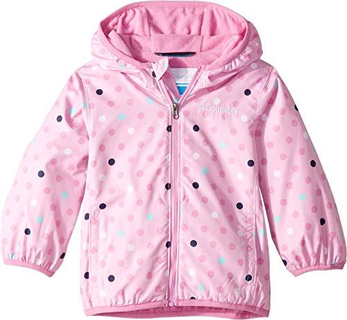 Toddler Mini Columbia - Columbia Kids Baby Girl's Mini Pixel Grabber¿ II Wind Jacket (Infant/Toddler) Pink Clover Polkadot 12-18 Months