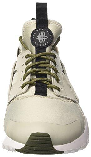 NIKE Herren Huarache Run Ultra Running Sneaker Khaki / Grau