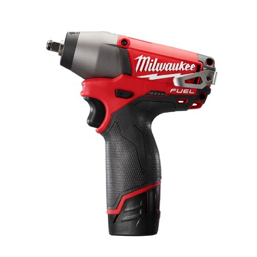 Milwaukee 2454-22 M12 Fuel 3/8 Impact Wrench Kit W/2 ()