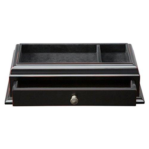 Black Wood Top Quality Pocket Changer - Ebony - Dimensions 11.62