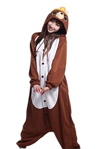 wotogold-animal-cosplay-costume-mole-unisex-adult-pajamas-brown