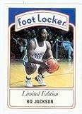 Bo Jackson baseball card (Kansas City Royals) 1991 Foot Locker #2