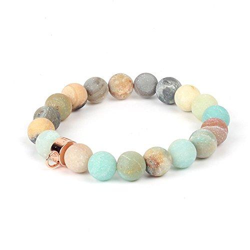 Shinus Bracelet Mens Womens Chakra Handmade Meditation Gemstone Charm Jewelry Popular Gift Friendship