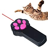Ruri's Cat Catch The Interactive LED Light Pointer, Black