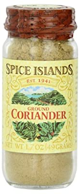 Spice Islands Coriander Seed, Ground, 1.7-Ounce (Pack of 3)