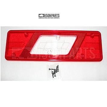 Ford Transit Mk8 2014-/> Chassis Cab Rear Tail Light Lens N//S Passenger Left