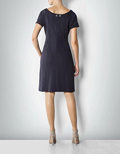 Dress 36 Hechter Unifarben Farbe Nylon Daniel Blau Größe Kleid Damen IqUaR
