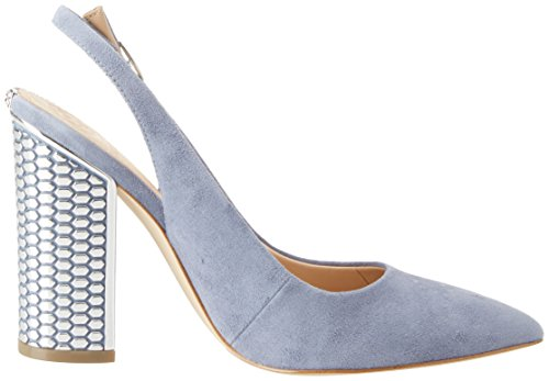 GUESS Footwear Dress Sling Back, Sandalias con Punta Cerrada Para Mujer Blu (Light Blue)