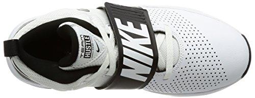 Nike Ungt Team Hustle D 8 (gs) Basketball Sko Hvid (hvid / Sort 100) wHwz7Tr