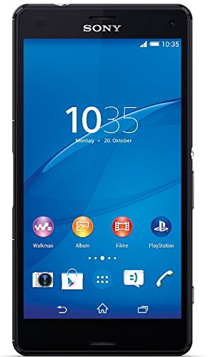 Sony Xperia Z3 Compact Smartphone (4,6 Zoll (11,7 cm) Touch-Display, 16 GB Speicher, Android 4.4) schwarz
