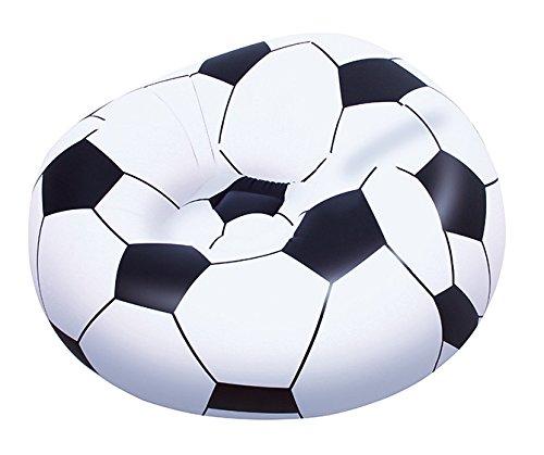 Perfect Bestway 45 X 44 X 28 Inch Beanless Soccer Ball Chair