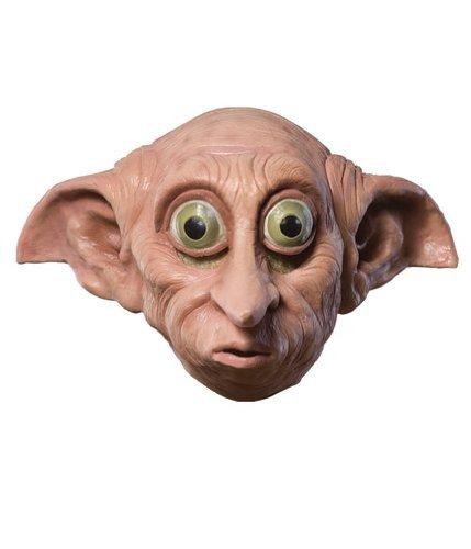 Harry Potter Dobby 3/4 vinyl Child's Mask (Dobby Costume For Women)